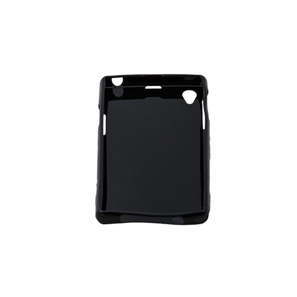 Чехол для моб. телефона Drobak для Sony C6902 Xperia Z1 /Elastic PU/Black (212281) изображение 2