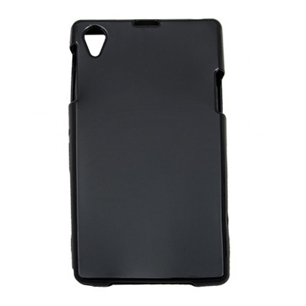Чехол для моб. телефона Drobak для Sony C6902 Xperia Z1 /Elastic PU/Black (212281)