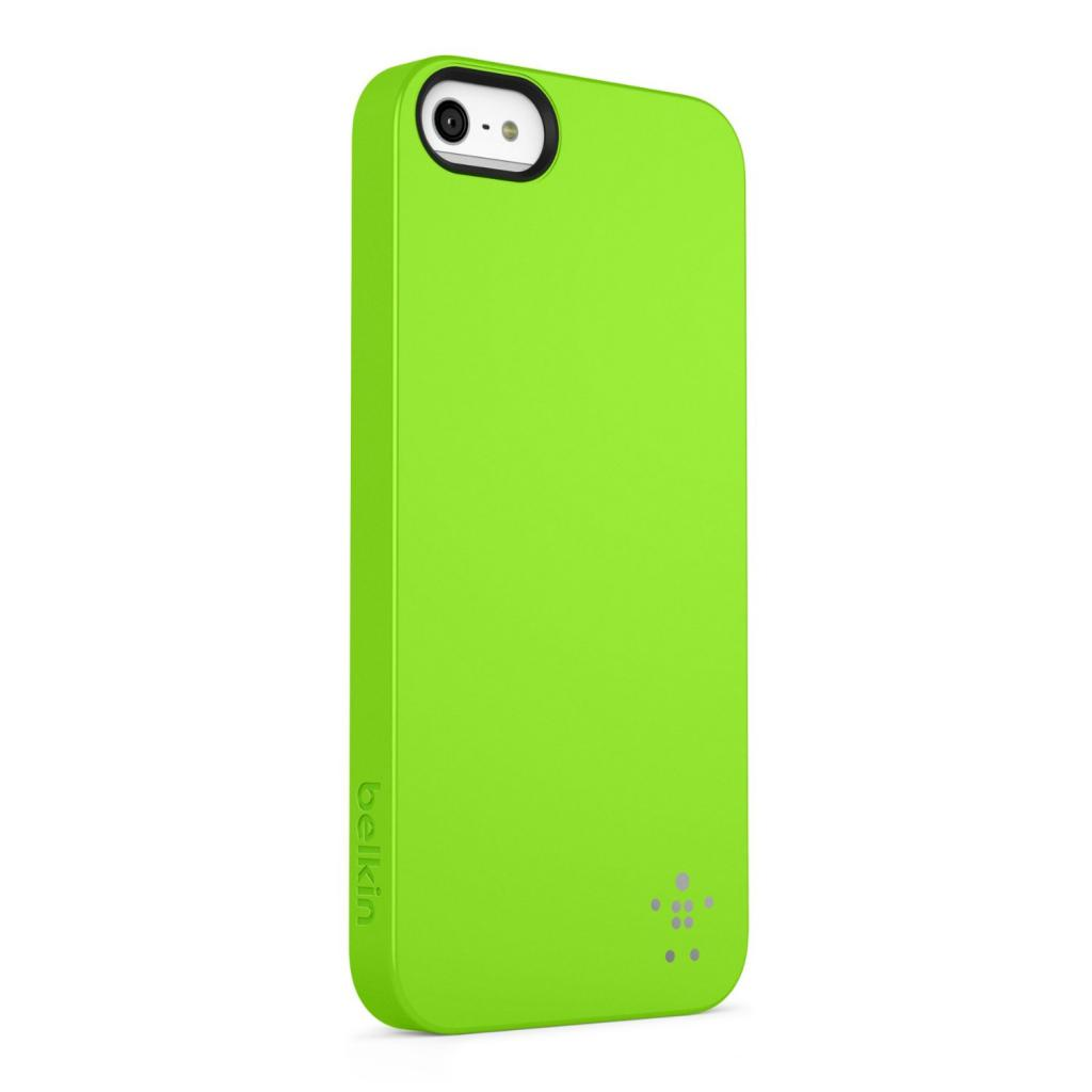 Чехол для моб. телефона Belkin iPhone 5/5s Shield Luxe/GREEN (F8W127vfC07) изображение 2