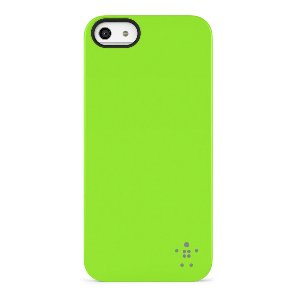 Чехол для моб. телефона Belkin iPhone 5/5s Shield Luxe/GREEN (F8W127vfC07)
