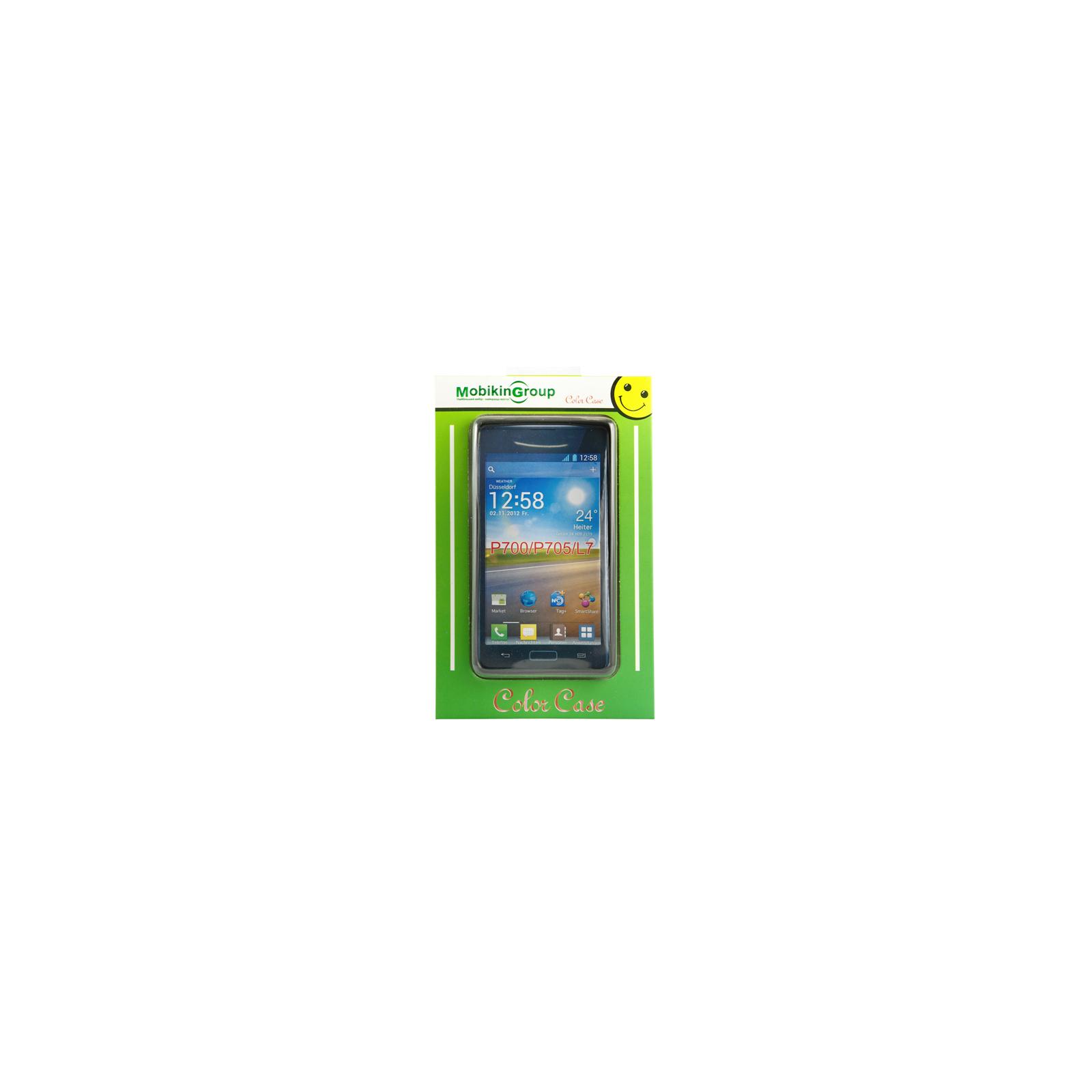 Чехол для моб. телефона Mobiking Lenovo A850 Black (27015)