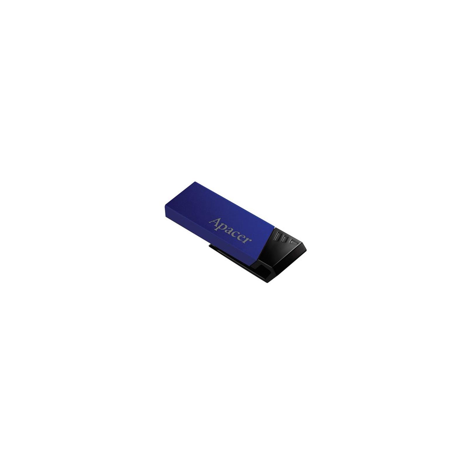 USB флеш накопитель 32GB AH131 Blue RP USB2.0 Apacer (AP32GAH131U-1) изображение 3