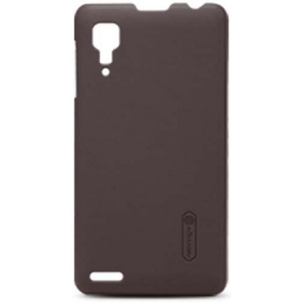 Чехол для моб. телефона NILLKIN для Lenovo P780 /Super Frosted Shield/Brown (6100806)