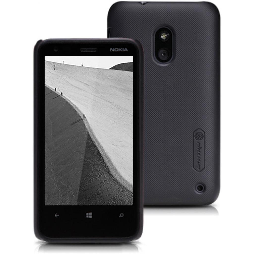 Чехол для моб. телефона NILLKIN для Nokia 620 /Super Frosted Shield/Black (6065768)