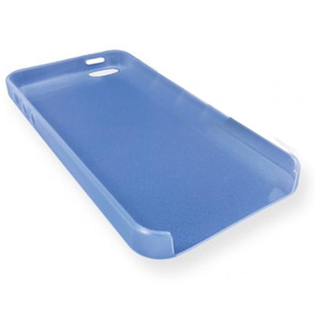Чехол для моб. телефона GLOBAL для iPhone 5 (голубой) (1283126448409)