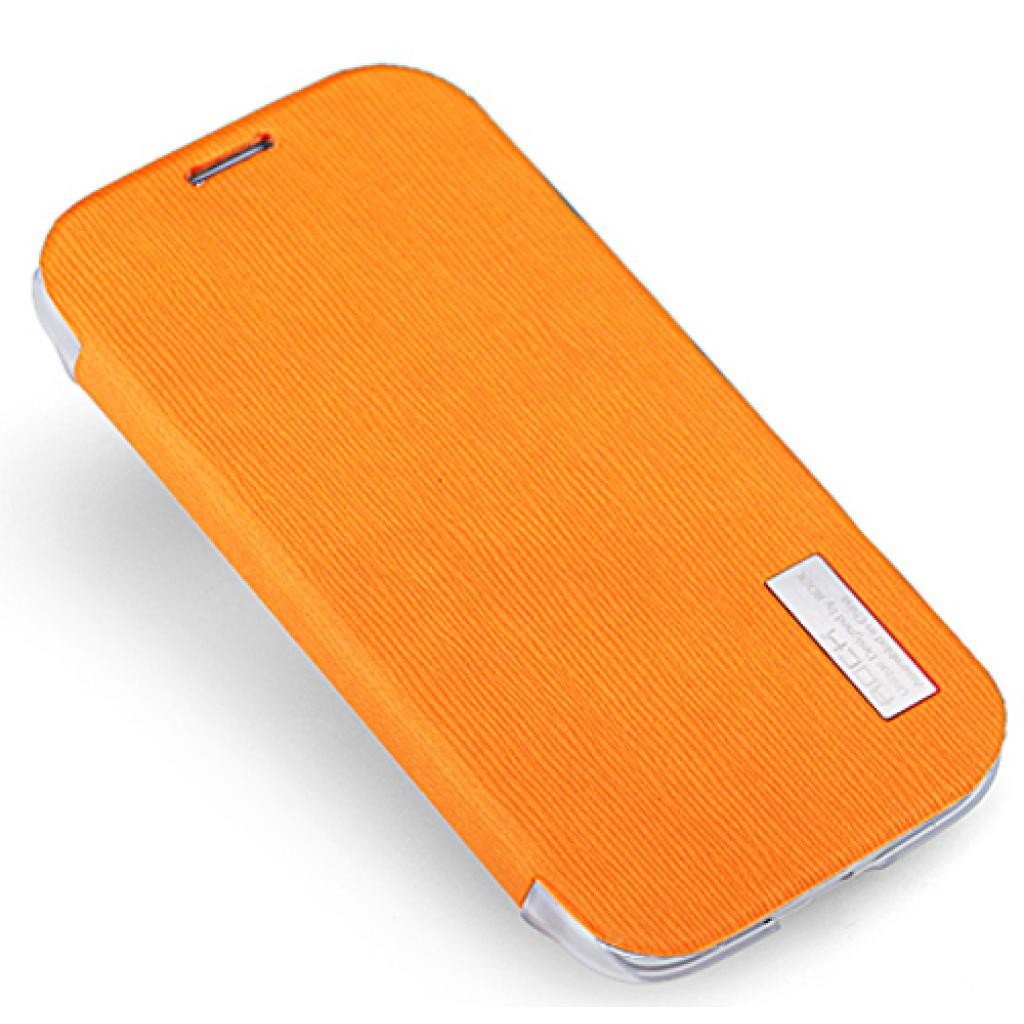 Чехол для моб. телефона Rock Samsung Galaxy S4 i9500 new elegant series orange (6950290628085)