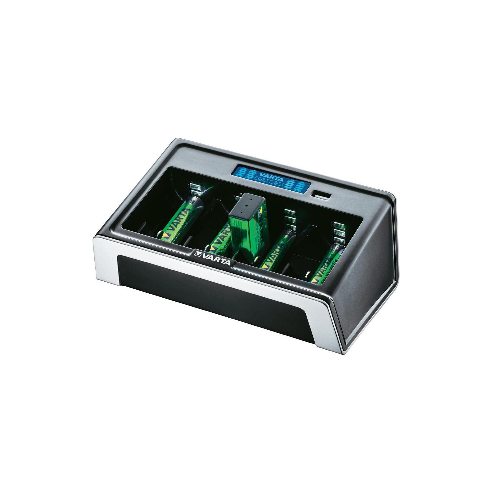 Зарядное устройство для аккумуляторов Varta LCD UNIVERSAL CHARGER w/USB (57678101401)