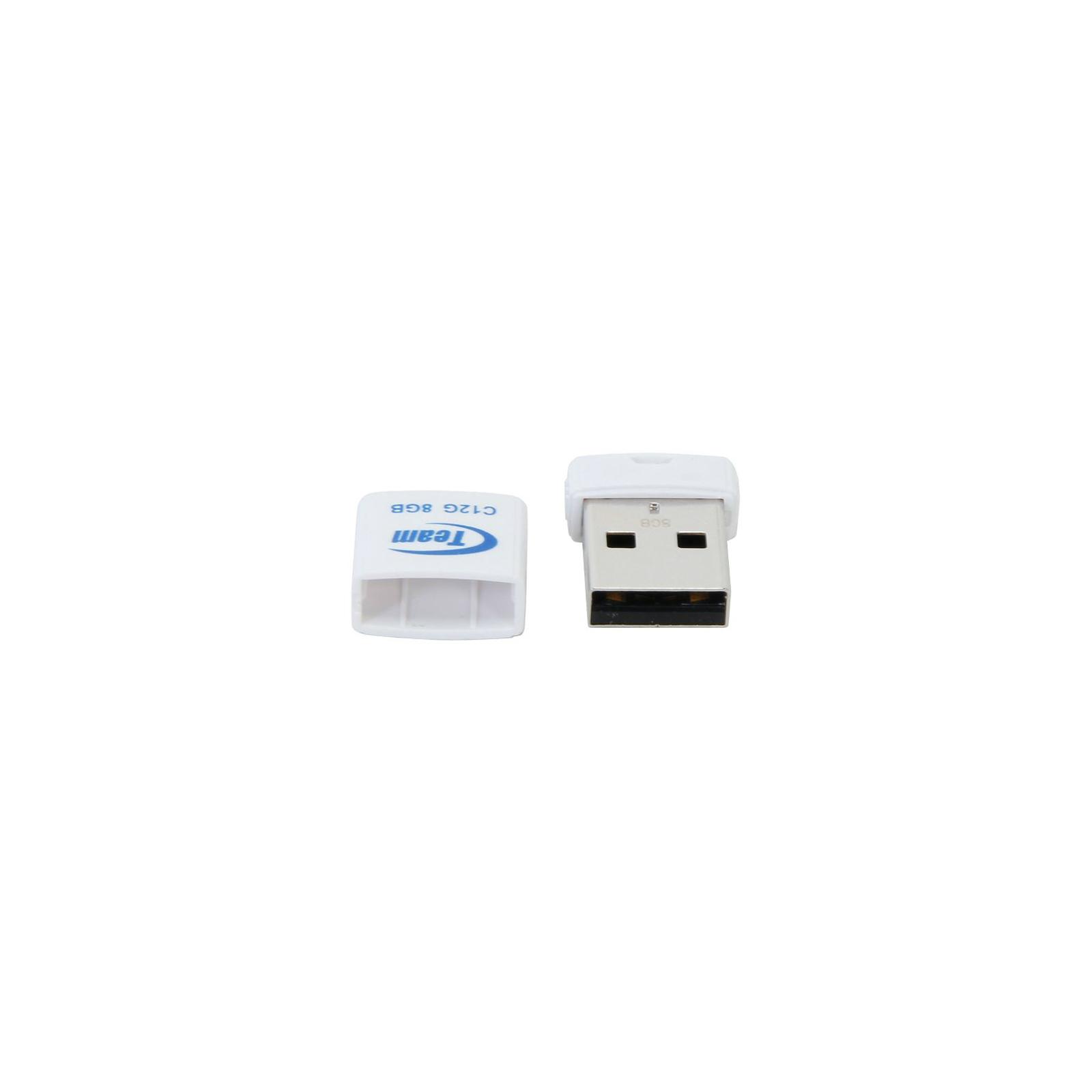 USB флеш накопитель Team 32GB C12G White USB 2.0 (TC12G32GW01) изображение 4