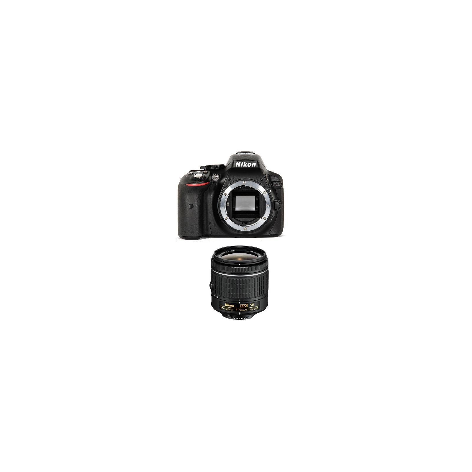 Цифровой фотоаппарат Nikon D5300 + AF-P 18-55VR kit (VBA370K007) изображение 3