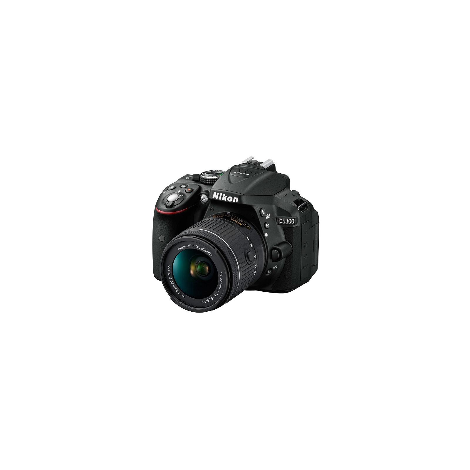 Цифровой фотоаппарат Nikon D5300 + AF-P 18-55VR kit (VBA370K007)