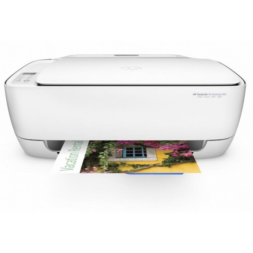 Многофункциональное устройство HP DeskJet Ink Advantage 3635 c Wi-Fi (F5S44C) изображение 2