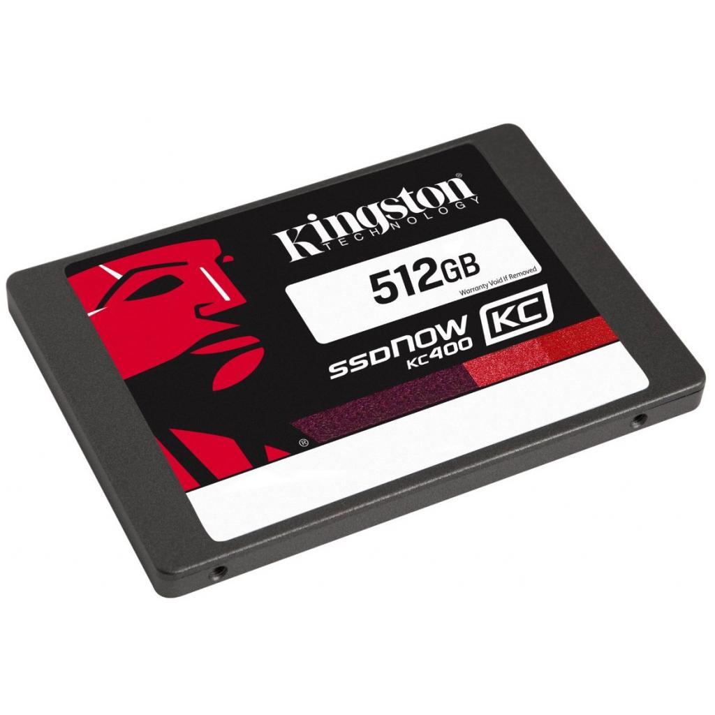 "Накопитель SSD 2.5"" 512GB Kingston (SKC400S37/512G) изображение 2"