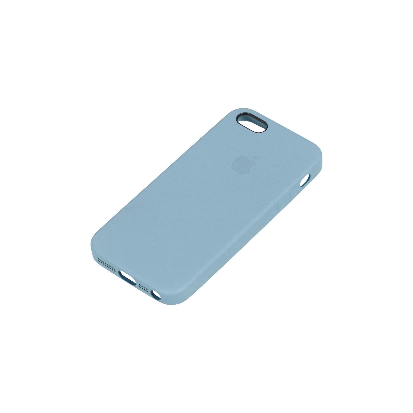 Чехол для моб. телефона Apple для iPhone 5s синий (MF044ZM/A) изображение 4