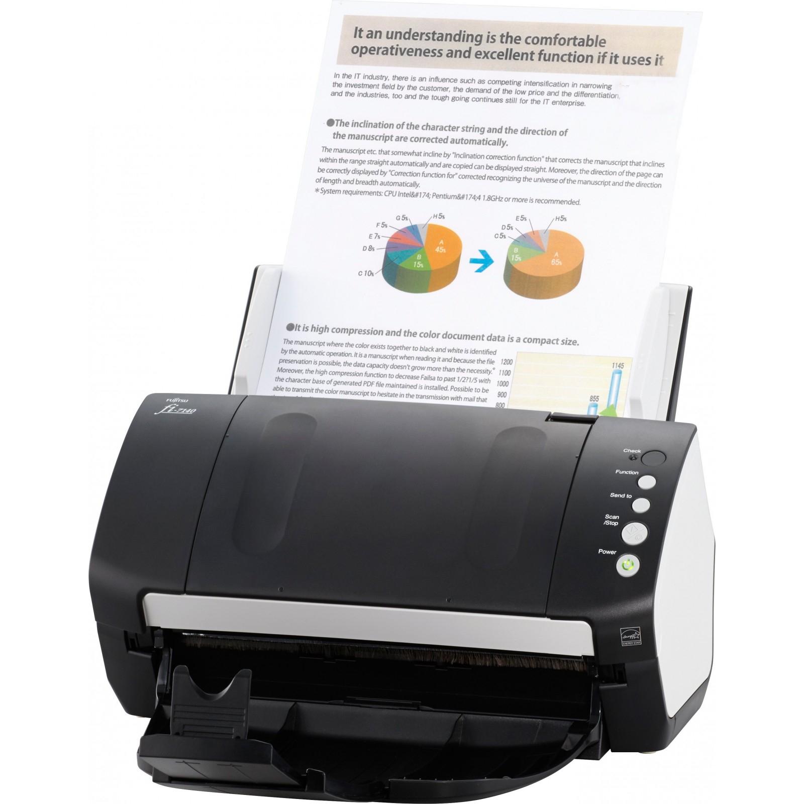 Сканер Fujitsu fi-7140 (PA03670-B101) изображение 4