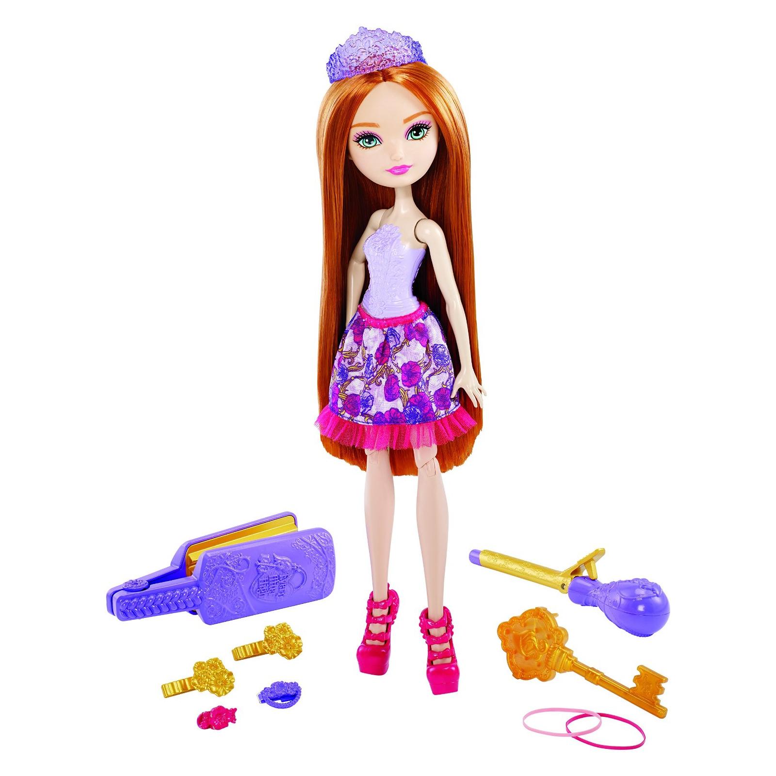 Игровой набор Mattel Ever After High Сказочные прически Холли (DNB75) изображение 2
