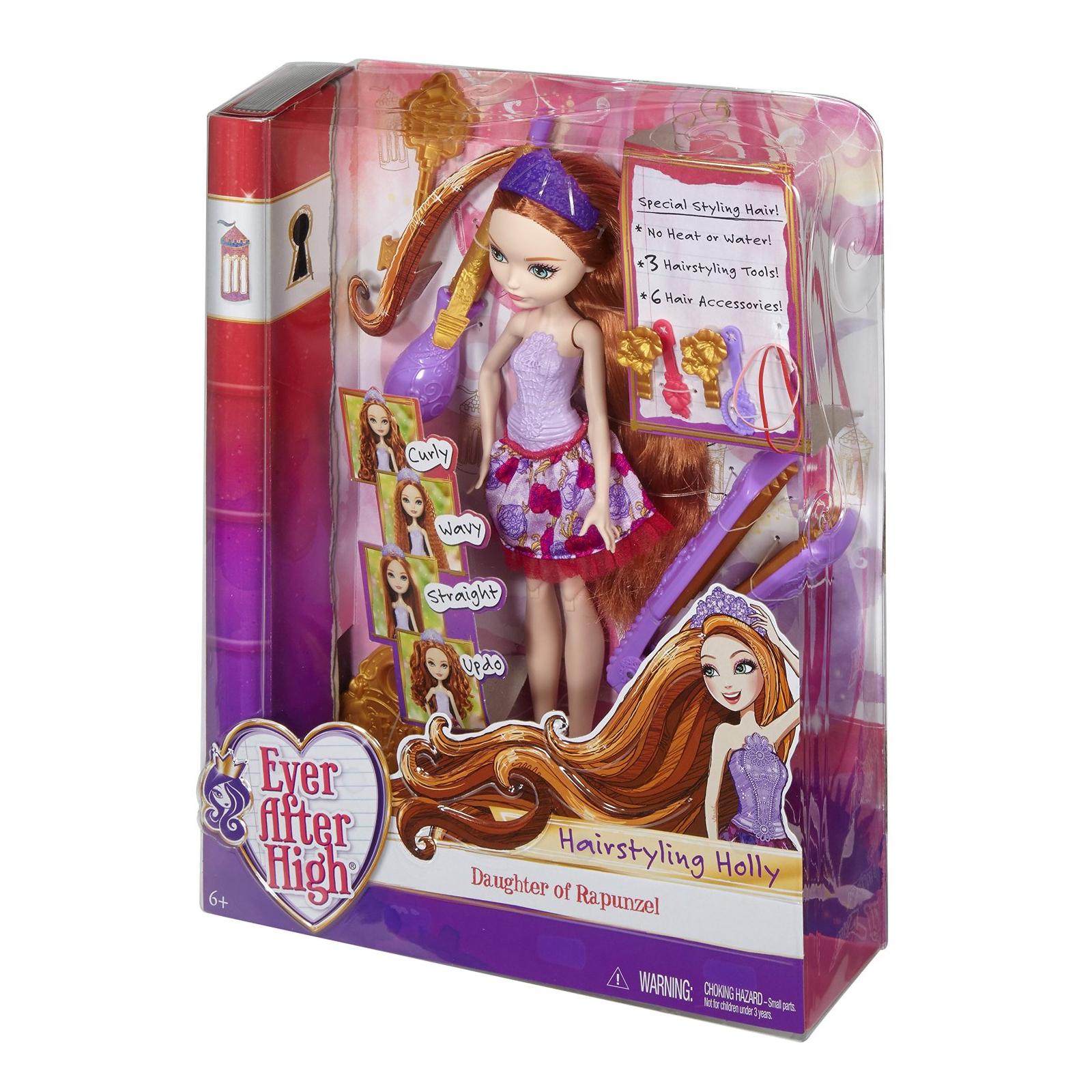 Игровой набор Mattel Ever After High Сказочные прически Холли (DNB75)