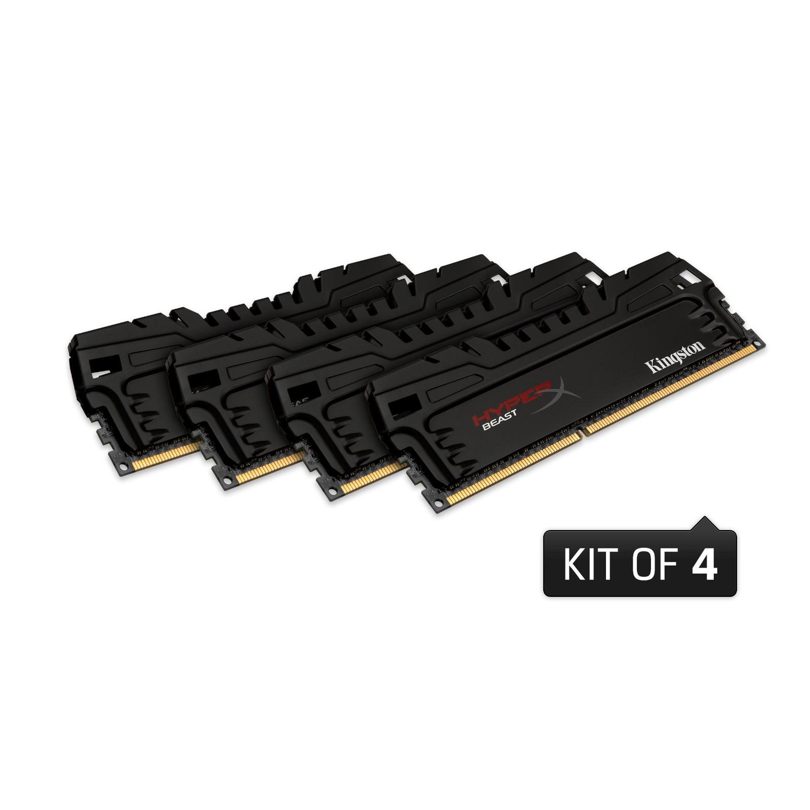 Модуль памяти для компьютера DDR3 16GB 1866 MHz Kingston (HX318C9T3K4/16) изображение 2
