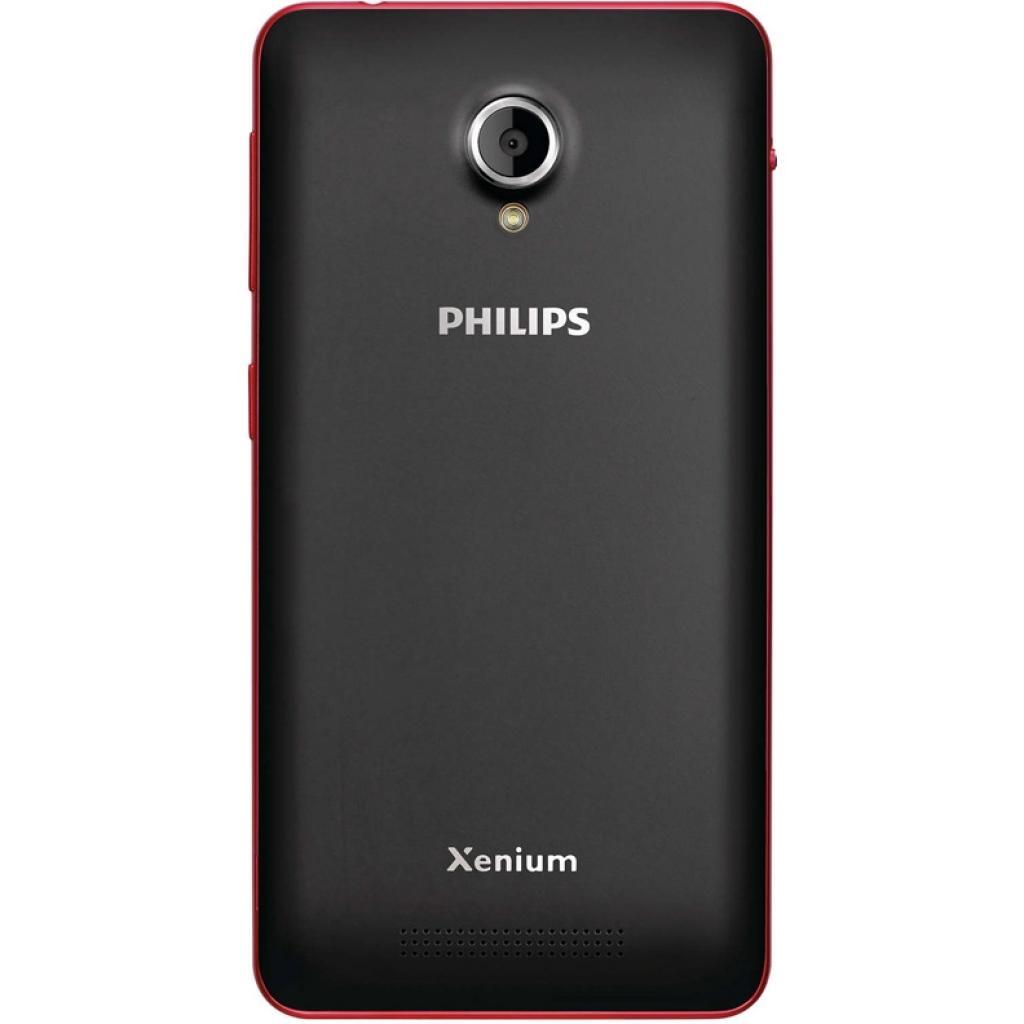 Мобильный телефон PHILIPS Xenium V377 Black Red (8712581737023) изображение 2