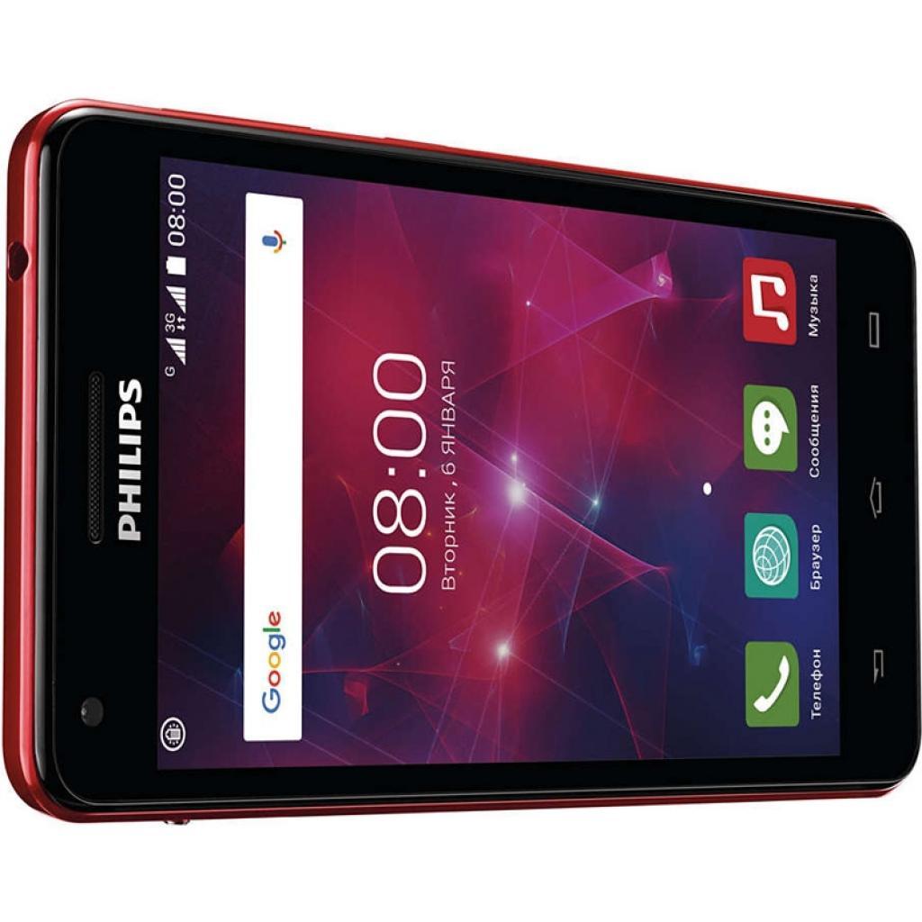 Мобильный телефон PHILIPS Xenium V377 Black Red (8712581737023) изображение 5