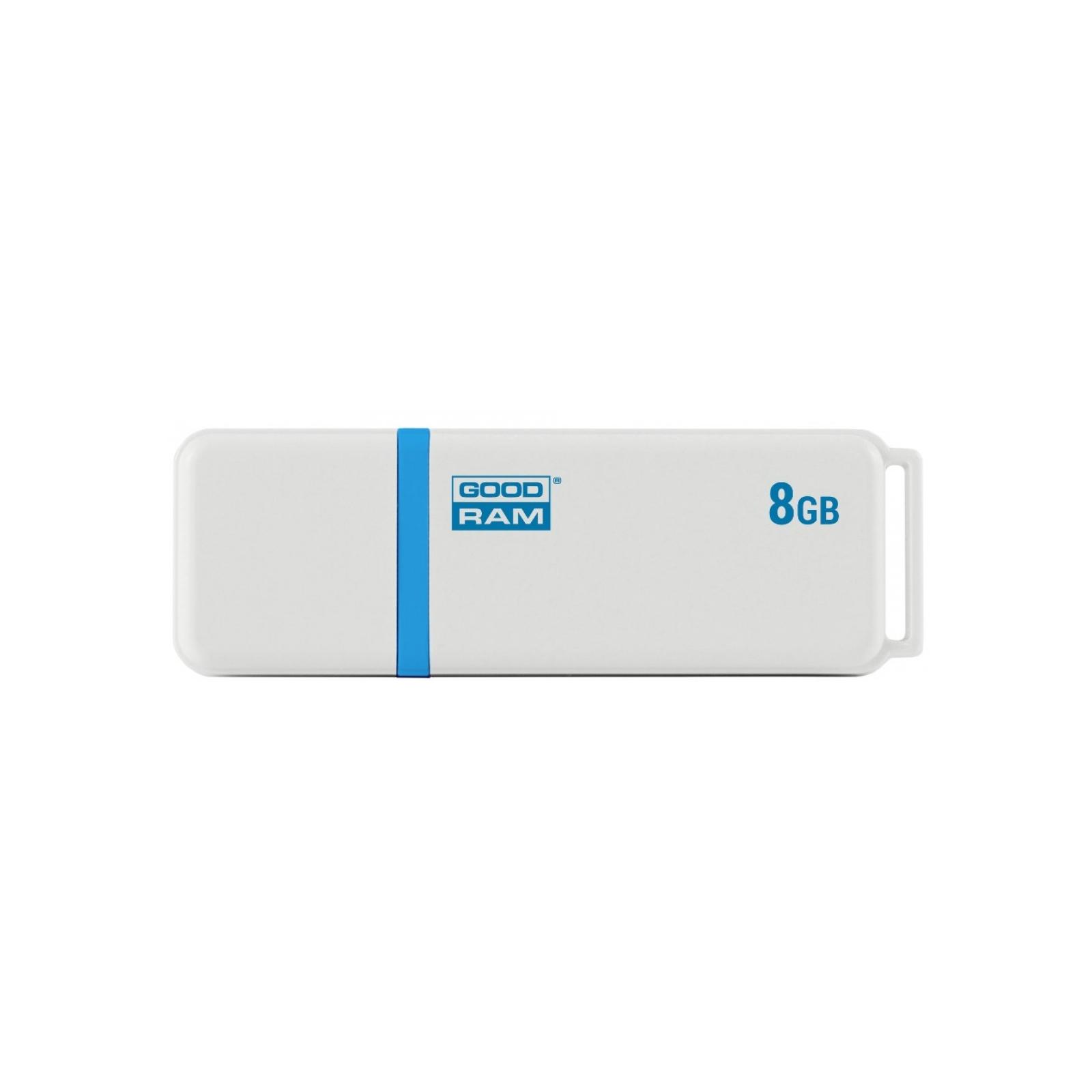 USB флеш накопитель Goodram 8GB UMO2 Green USB 2.0 (UMO2-0080G0R11)