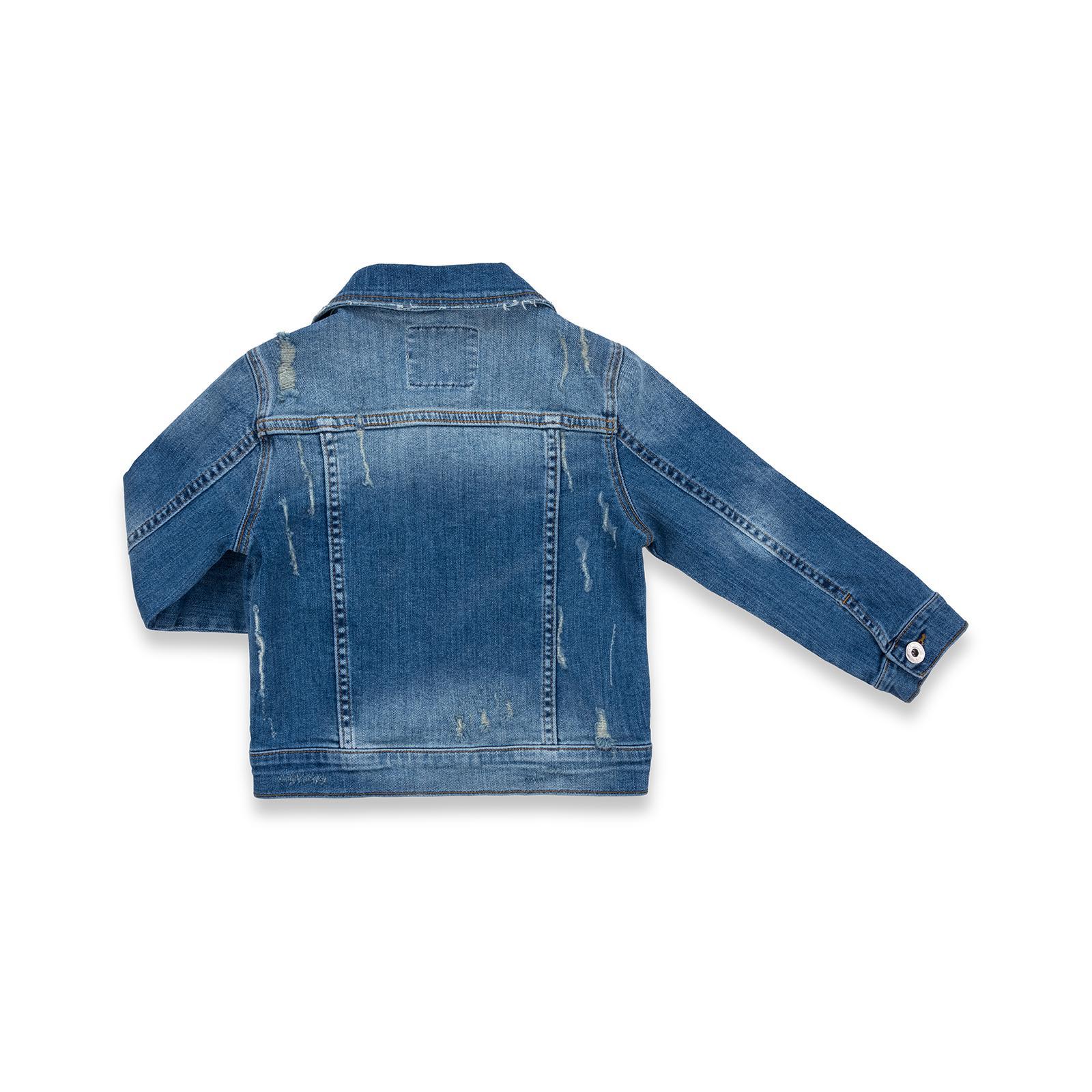 Куртка Breeze джинсовая укороченная (OZ-18801-134G-blue) изображение 2
