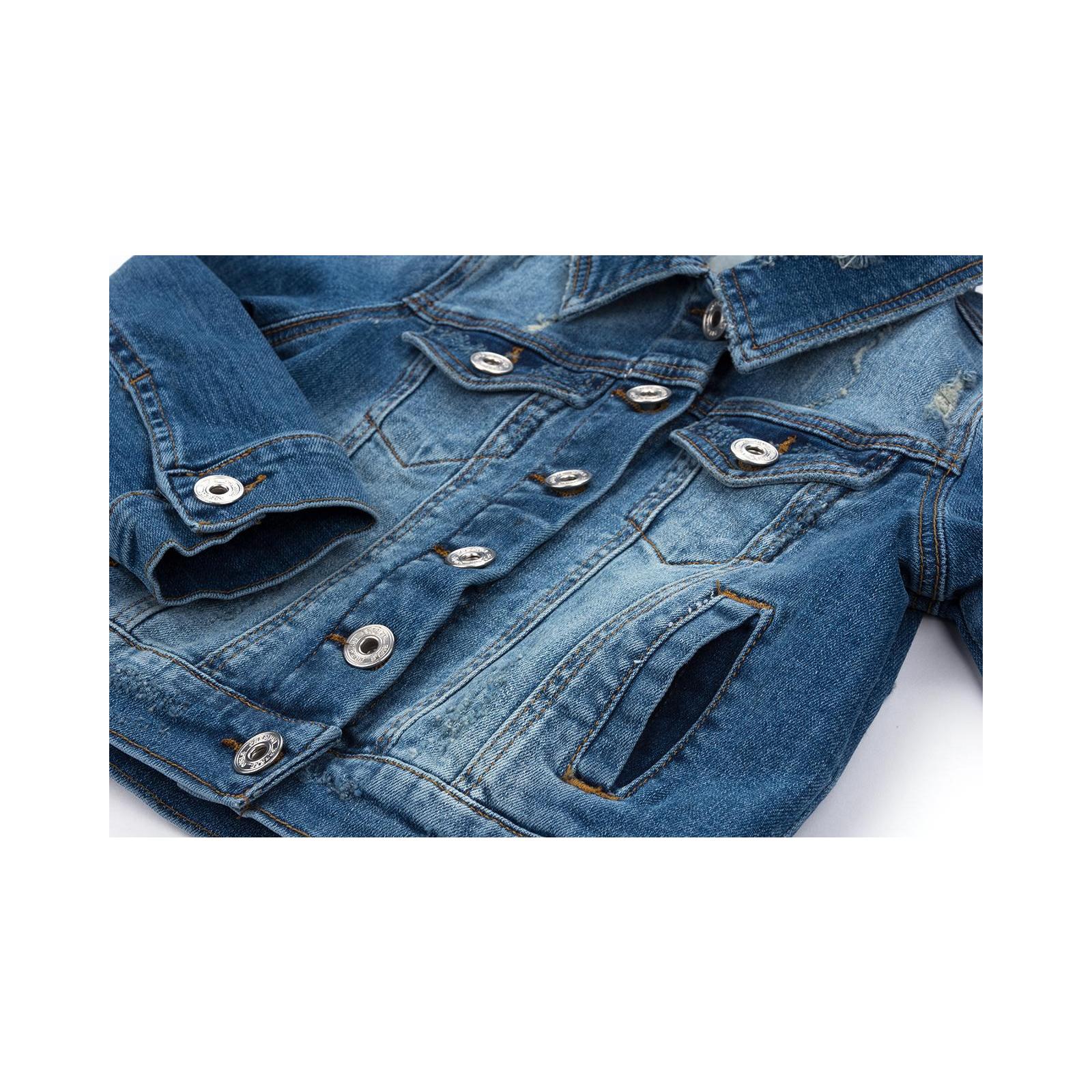 Куртка Breeze джинсовая укороченная (OZ-18801-134G-blue) изображение 5