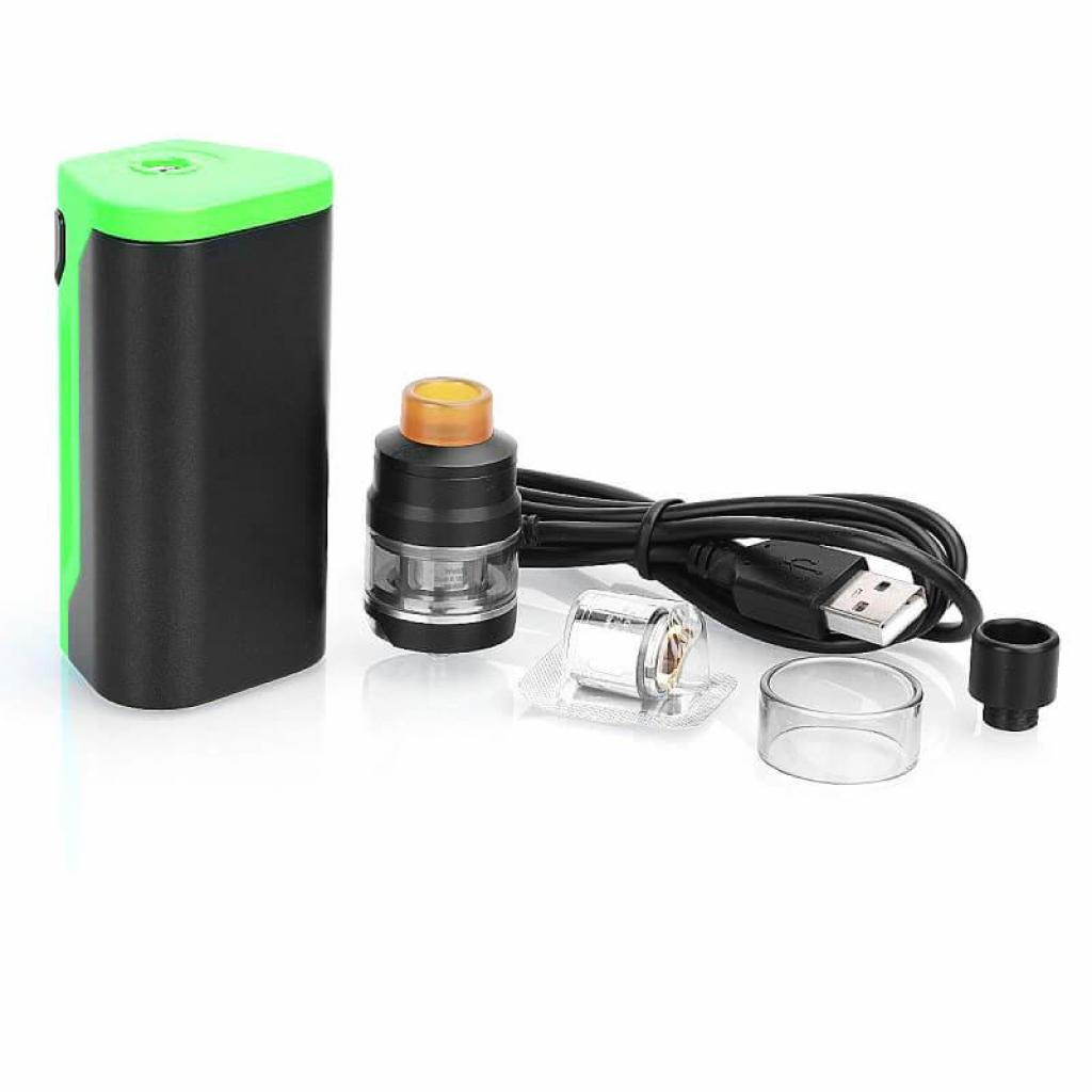 Стартовый набор Wismec Reuleaux RX2 20700 with Gnome Tank Kit Green (WISRX2KGR) изображение 5