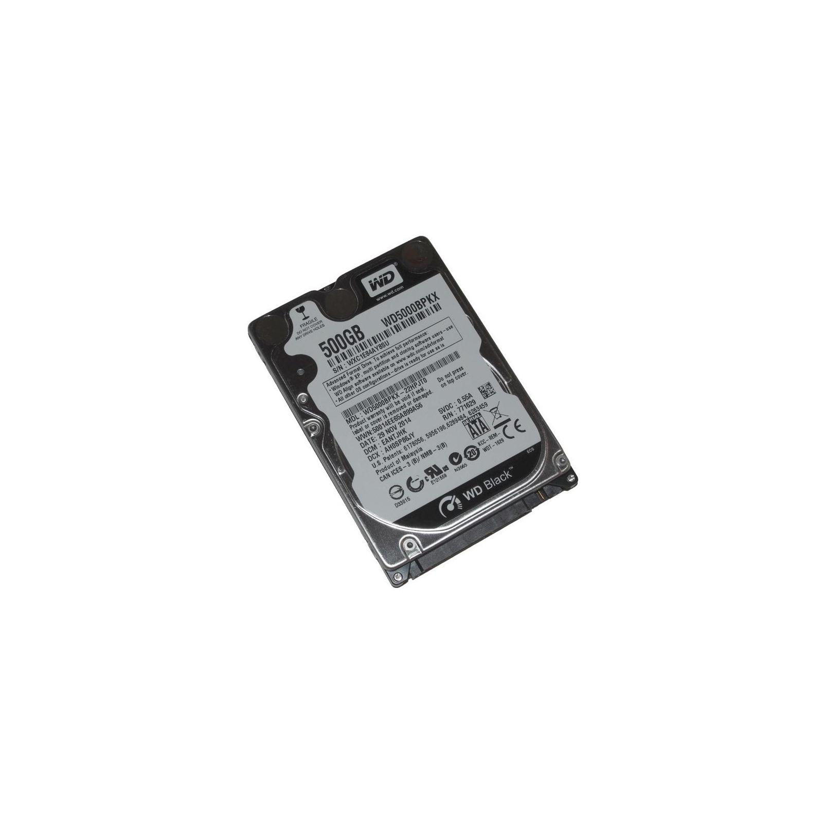 """Жесткий диск для ноутбука 2.5"""" 500GB WD (#WD5000BPKX-FR#) изображение 4"""