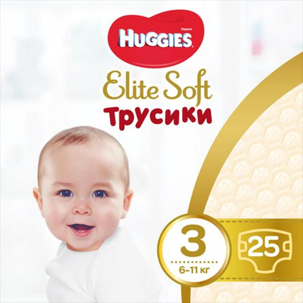 Подгузник Huggies Elite Soft Pants M размер 3 (6-11 кг) 25 шт (5029053546964)
