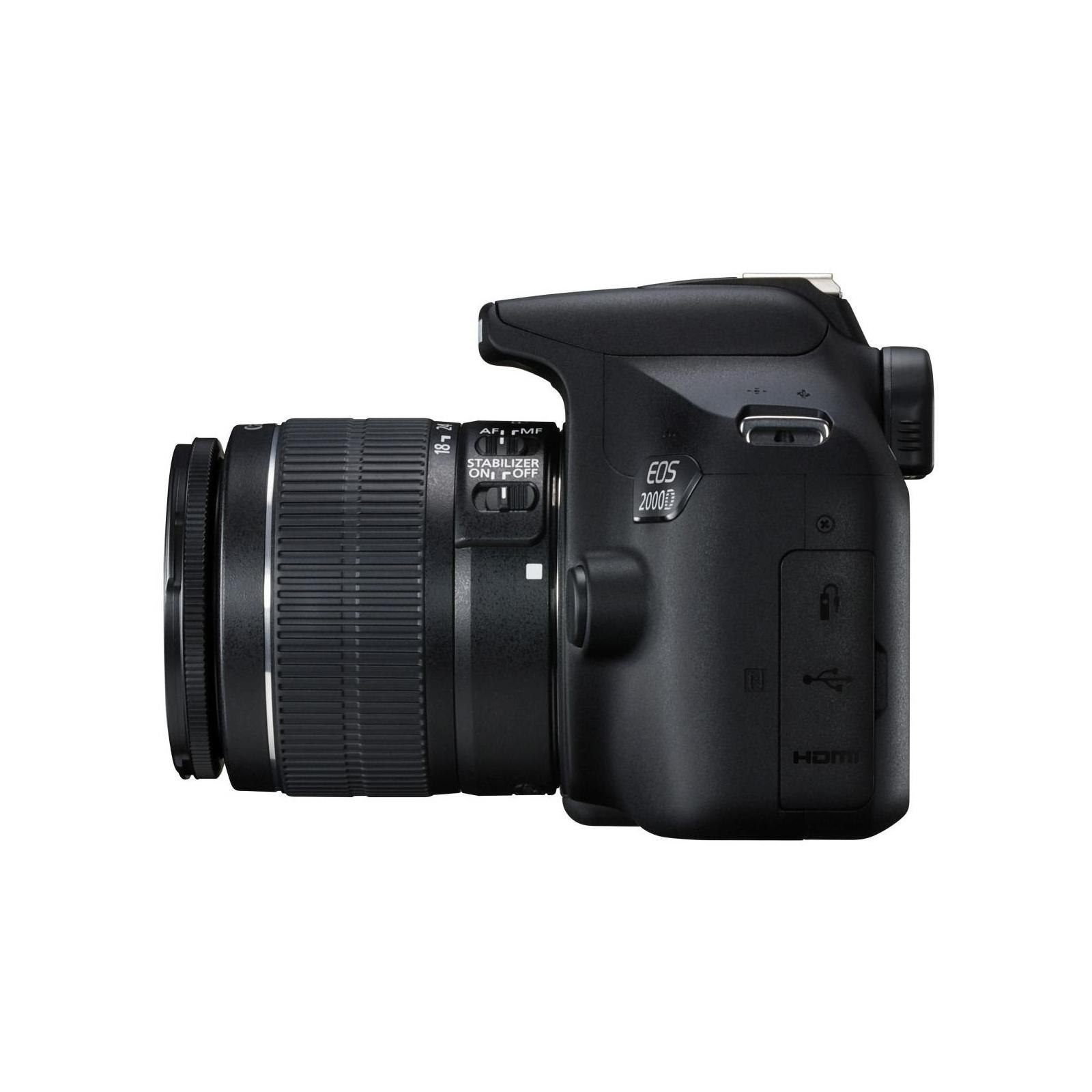 Цифровой фотоаппарат Canon EOS 2000D 18-55 IS II kit (2728C008) изображение 5