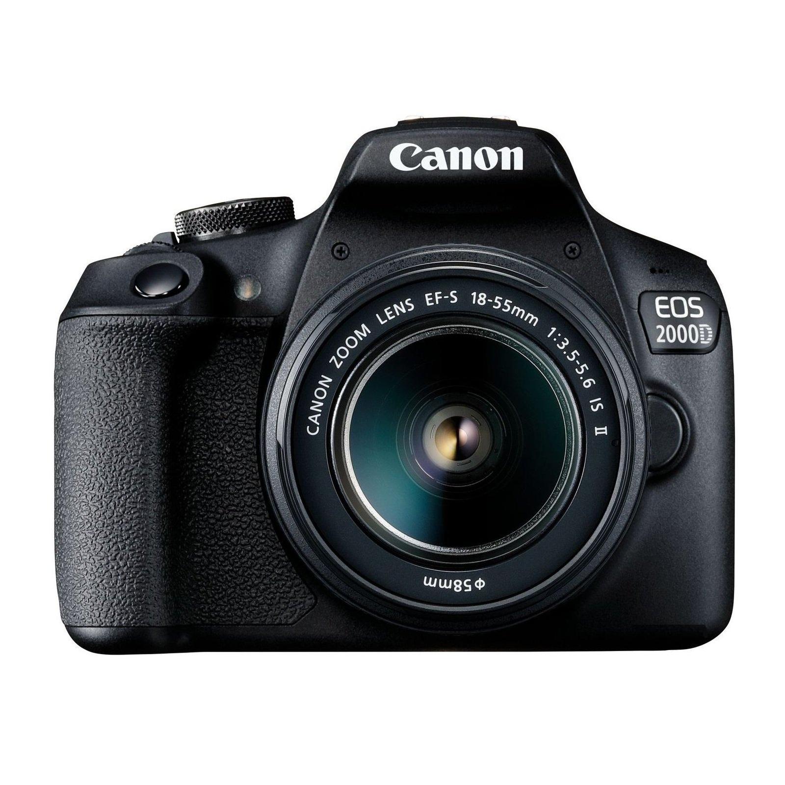 Цифровой фотоаппарат Canon EOS 2000D 18-55 IS II kit (2728C008)