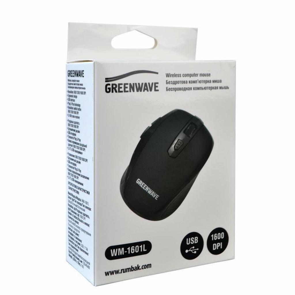 Мышка Greenwave WM-1601L Black (R0015186) изображение 3