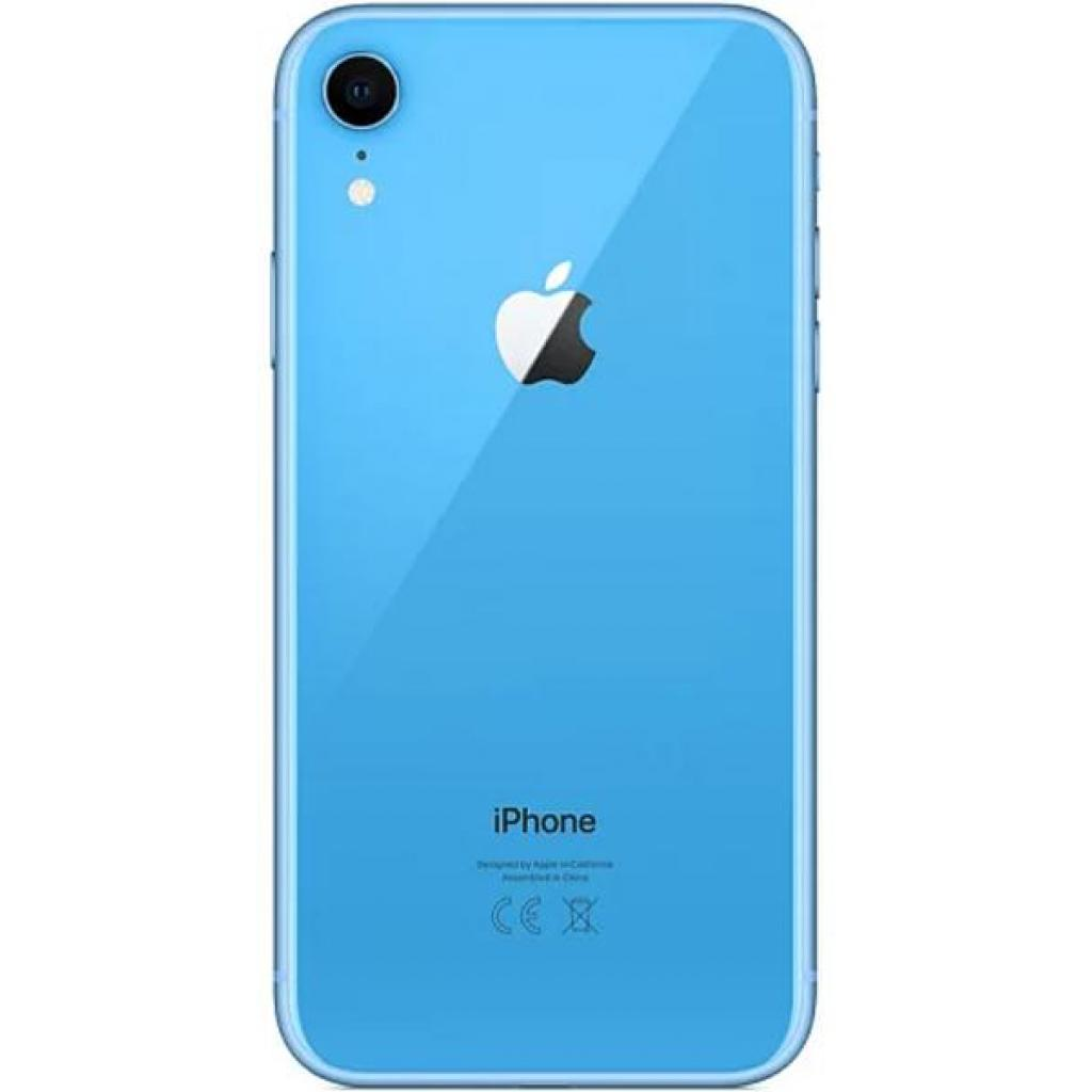 Мобильный телефон Apple iPhone XR 64Gb Blue (MRYA2FS/A) изображение 2