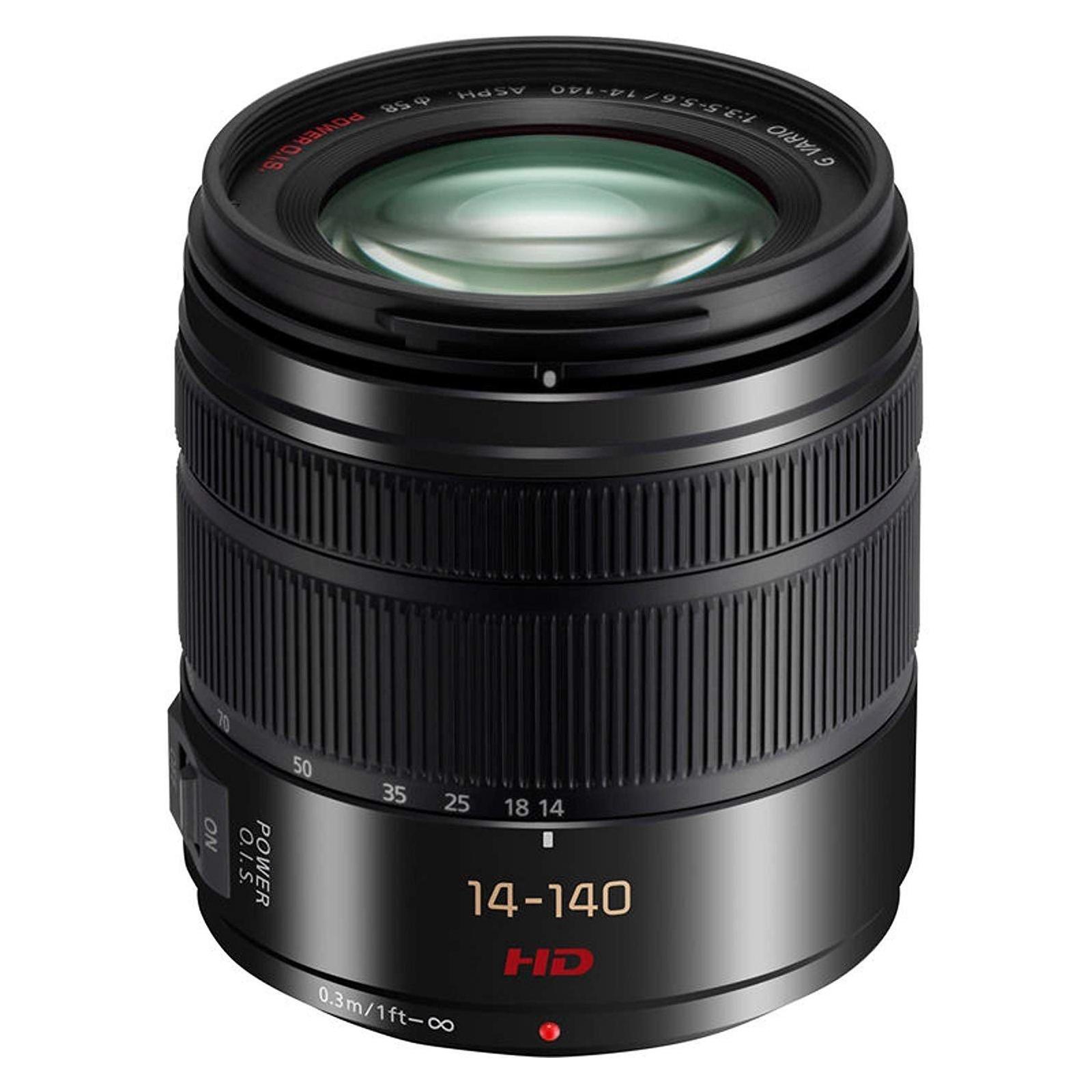 Объектив PANASONIC Micro 4/3 Lens 14-140mm f/3.5-5.6 ASPH. POWER O.I.S. Lumix G (H-FS14140E9K)