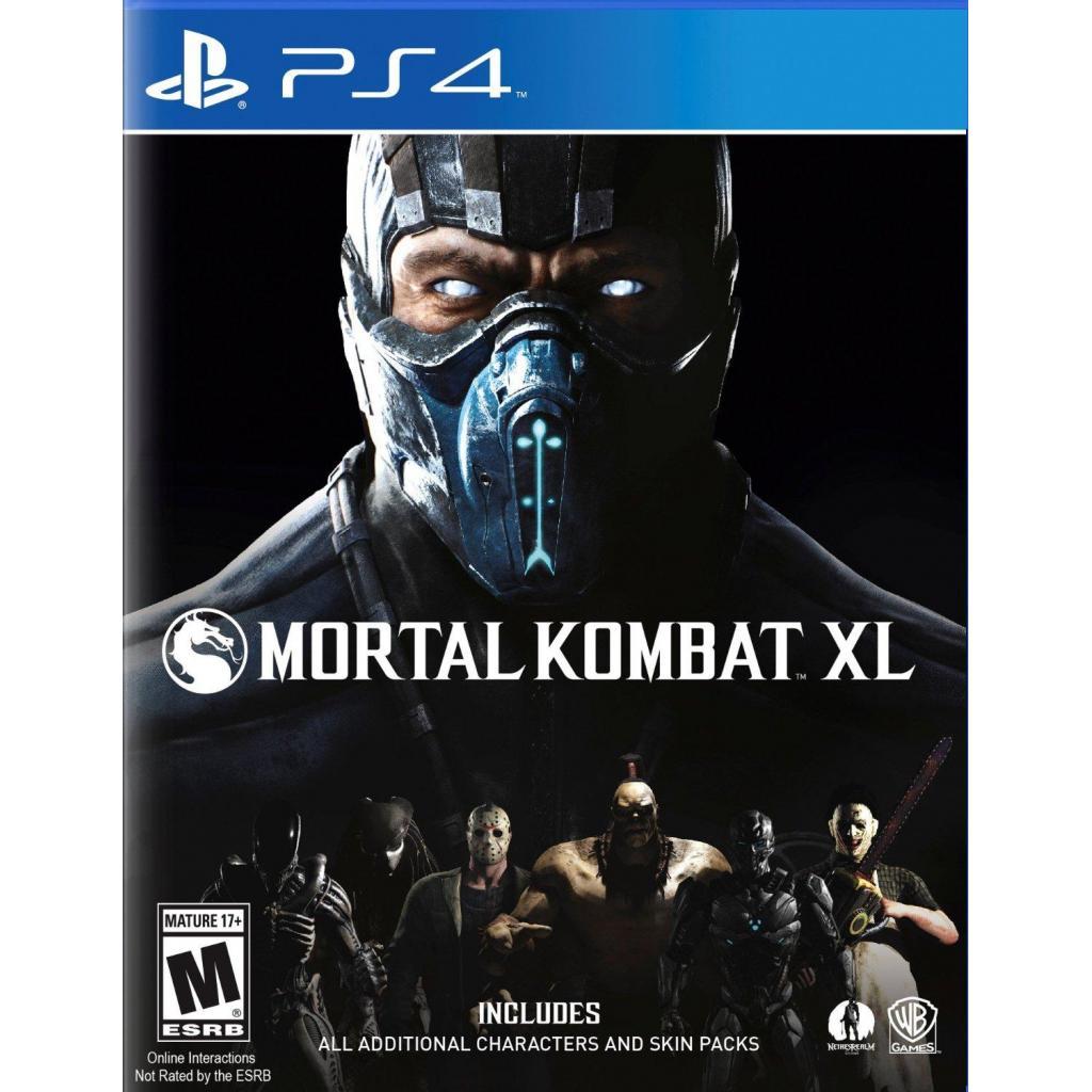Игра SONY Mortal Kombat XL [Blu-Rayдиск] PS4 (2197885)