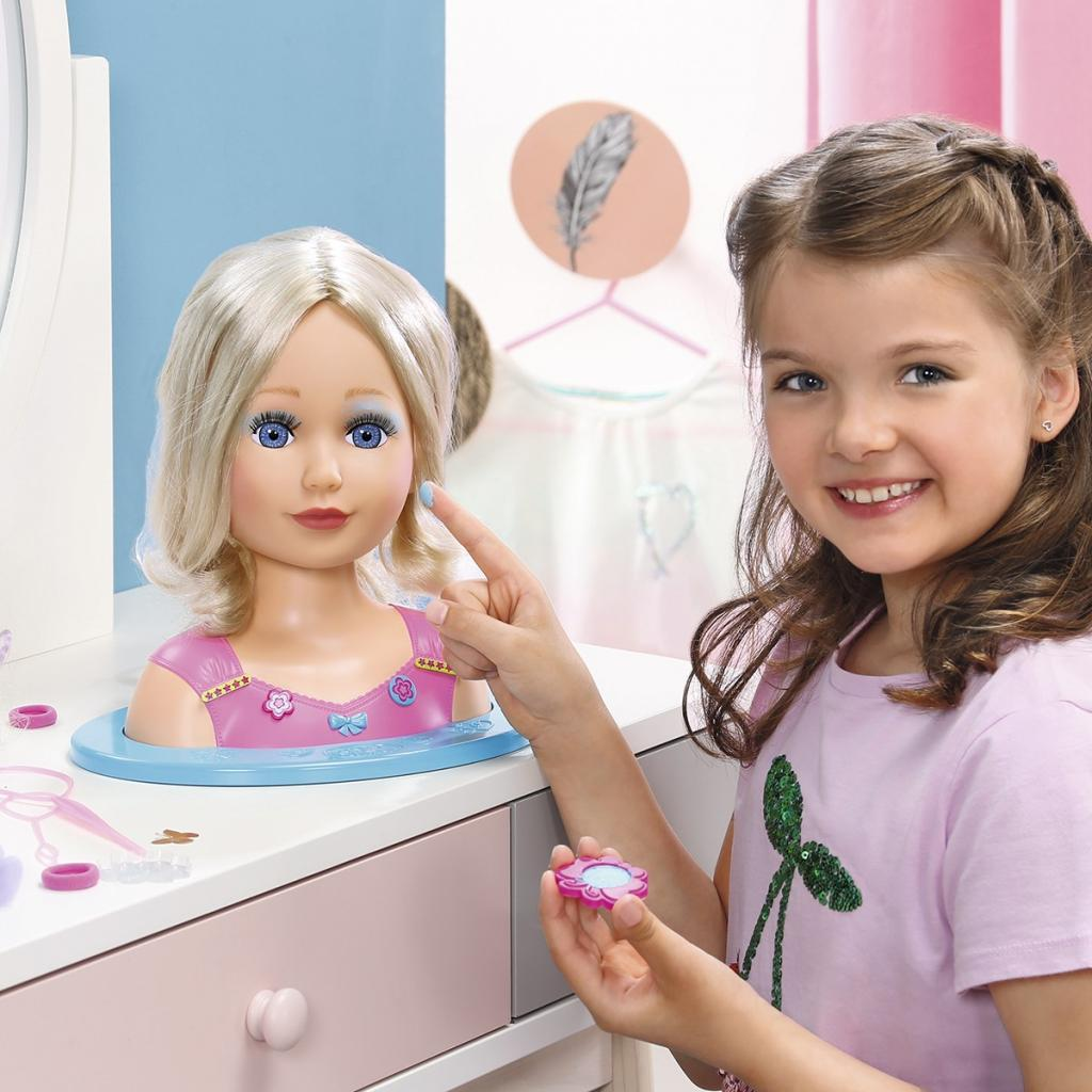 Кукла Zapf манекен My Model Сестричка с аксессуарами (824788) изображение 6