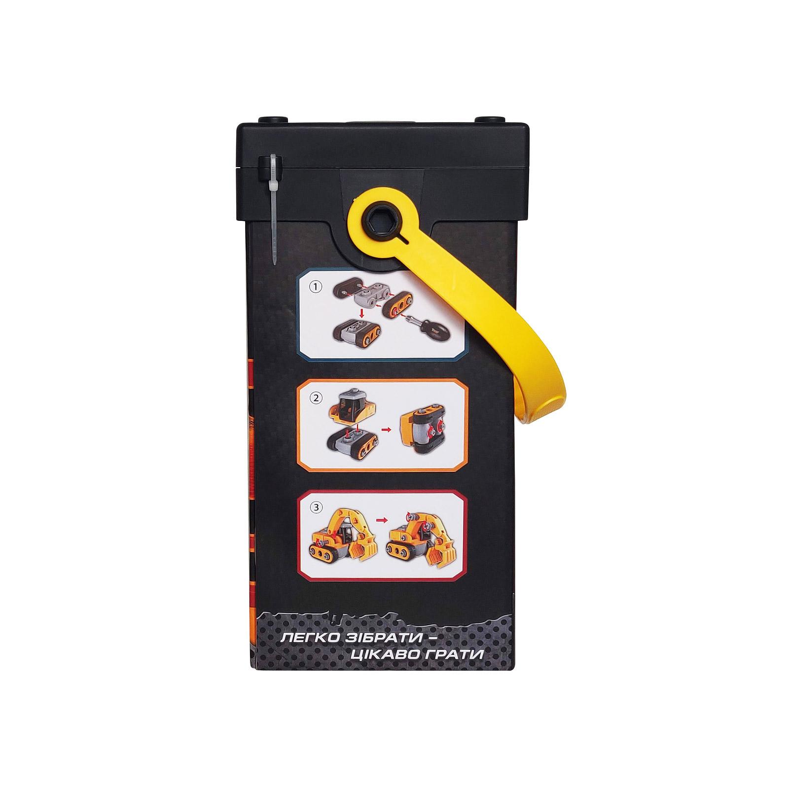 Конструктор Microlab Toys Строительная техника - Ковш погрузчик (MT8903) изображение 4