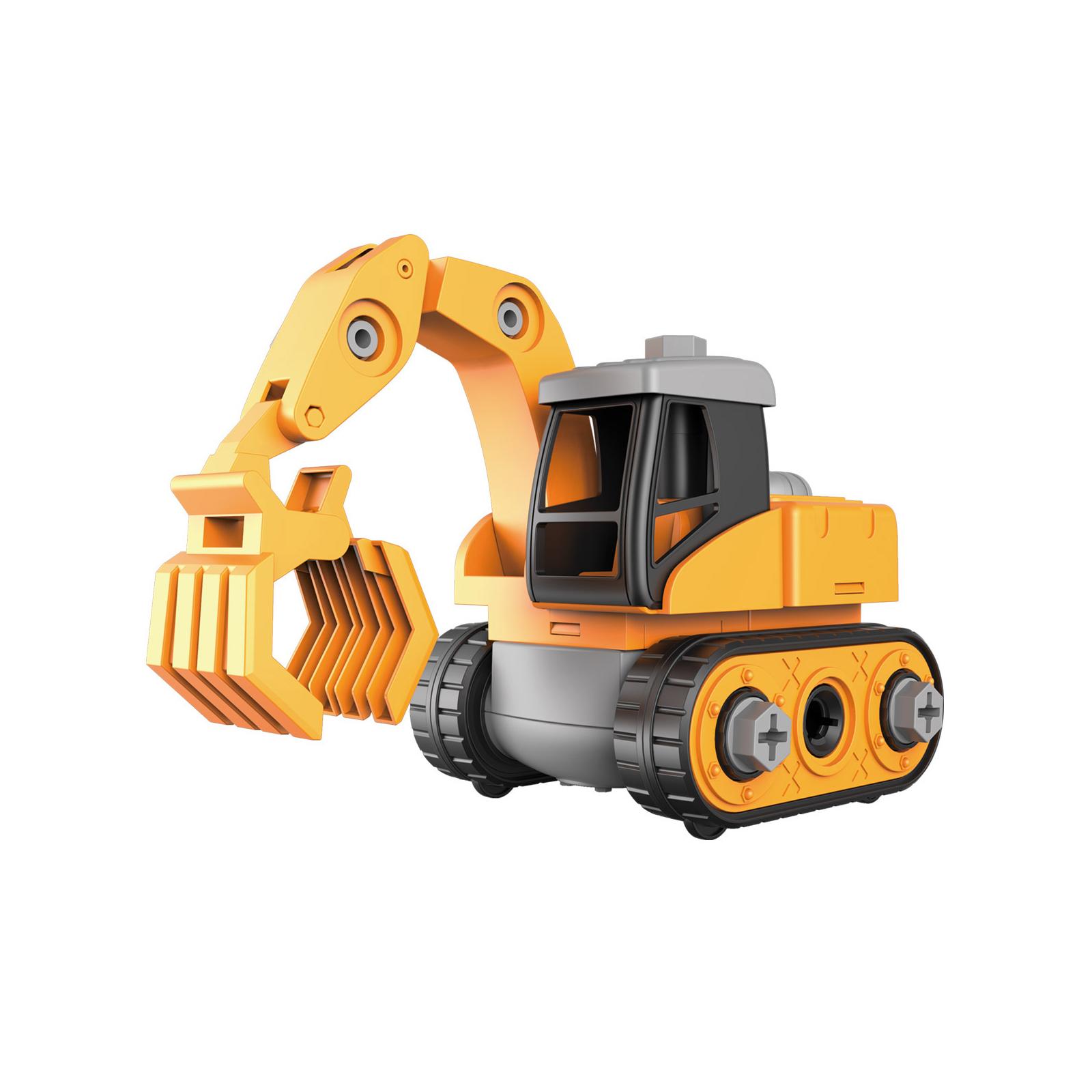Конструктор Microlab Toys Строительная техника - Ковш погрузчик (MT8903)