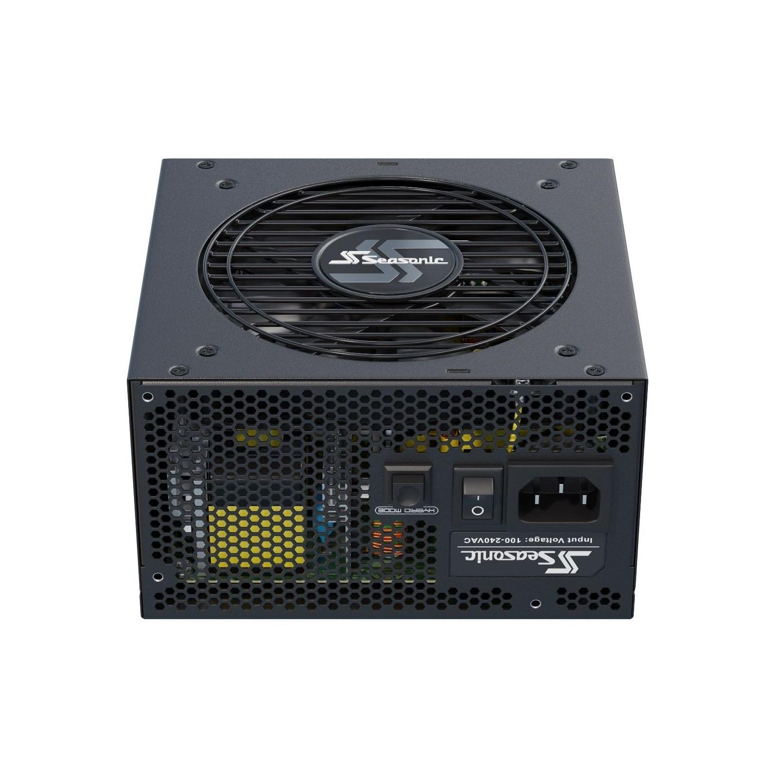 Блок питания Seasonic 650W FOCUS Gold NEW (FOCUS GX-650 (SSR-650FX)) изображение 5