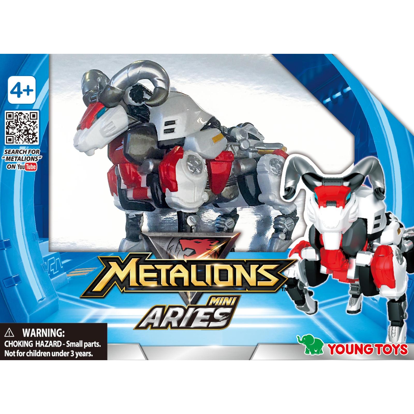 Трансформер Metalions мини Ариес (314039) изображение 2