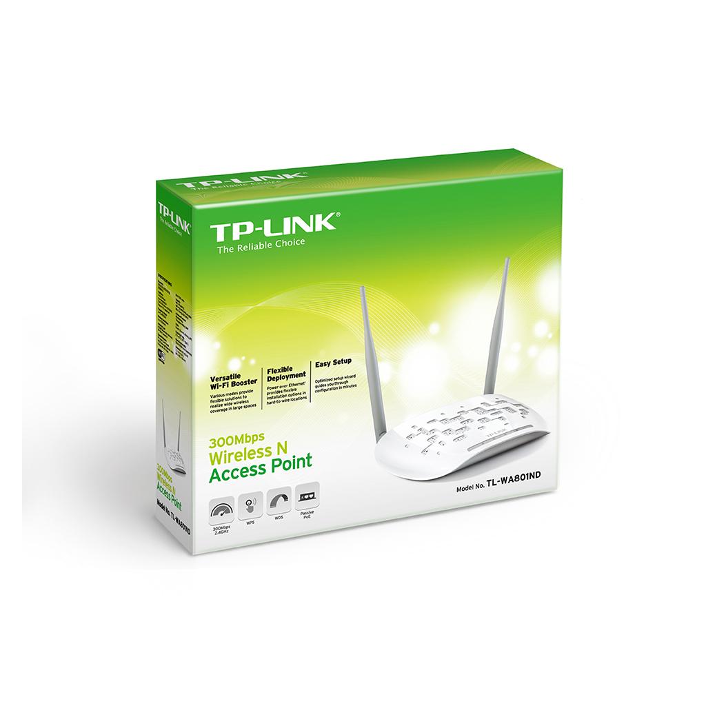 Точка доступа Wi-Fi TP-Link TL-WA801ND изображение 4