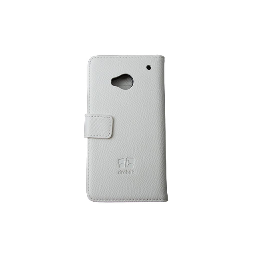 Чехол для моб. телефона Drobak для HTC One /Elegant Wallet White (218841) изображение 3
