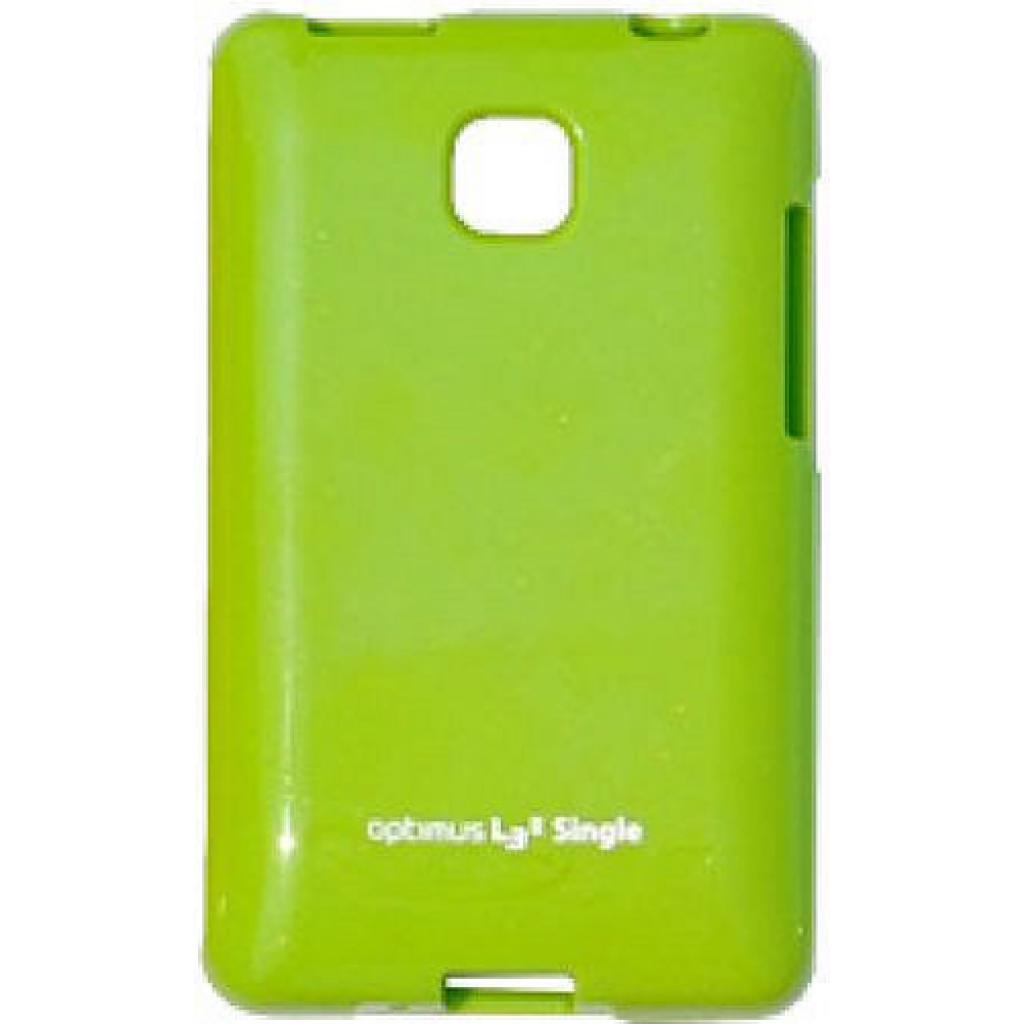 Чехол для моб. телефона VOIA для LG E425 Optimus L3II /Jelly/Lime (6068164)