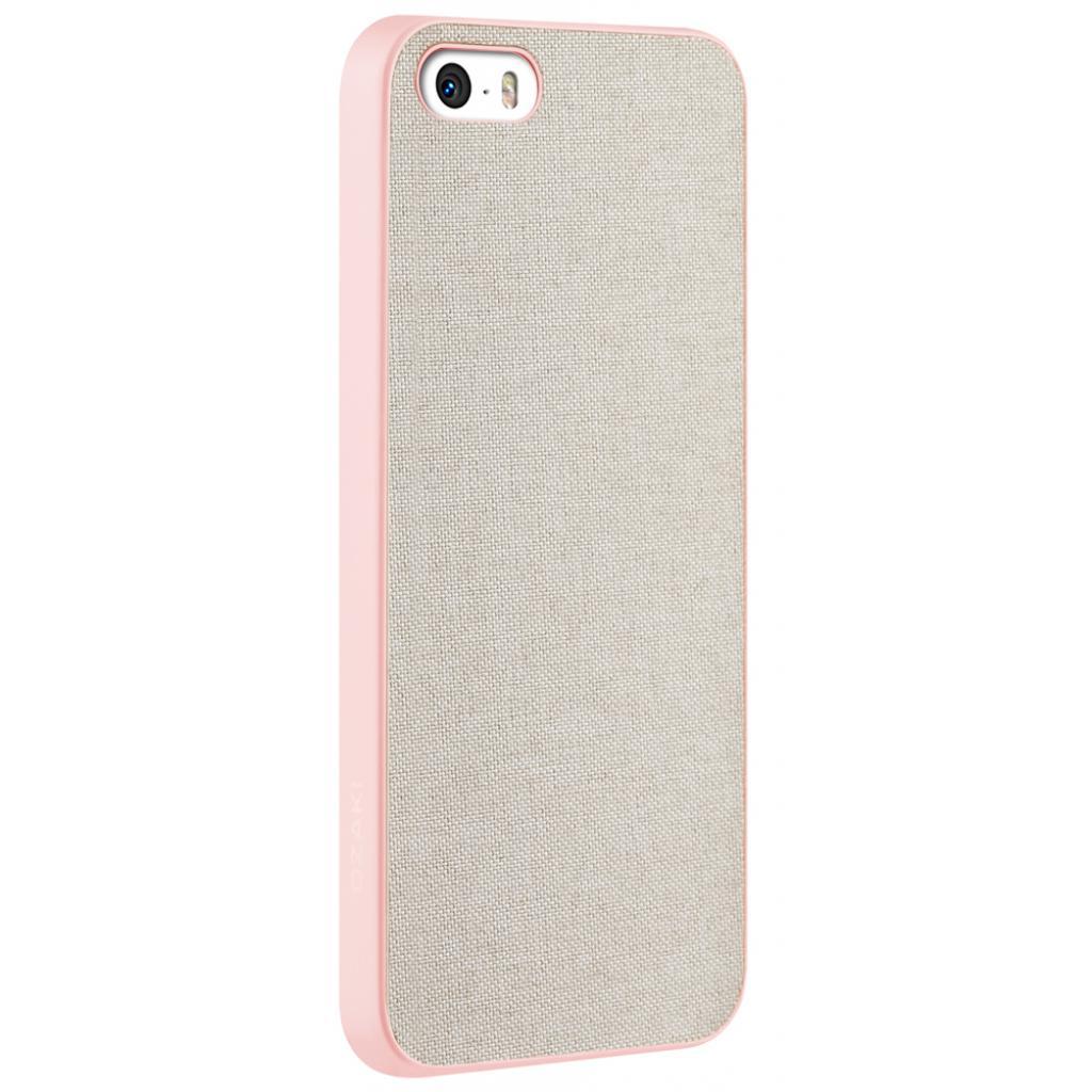 Чехол для моб. телефона OZAKI iPhone 5/5S O!coat 0.3+Canvas Pink (OC543PK) изображение 2