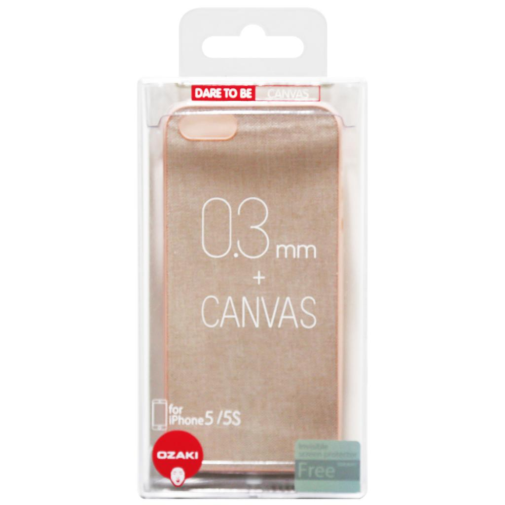 Чехол для моб. телефона OZAKI iPhone 5/5S O!coat 0.3+Canvas Pink (OC543PK) изображение 4