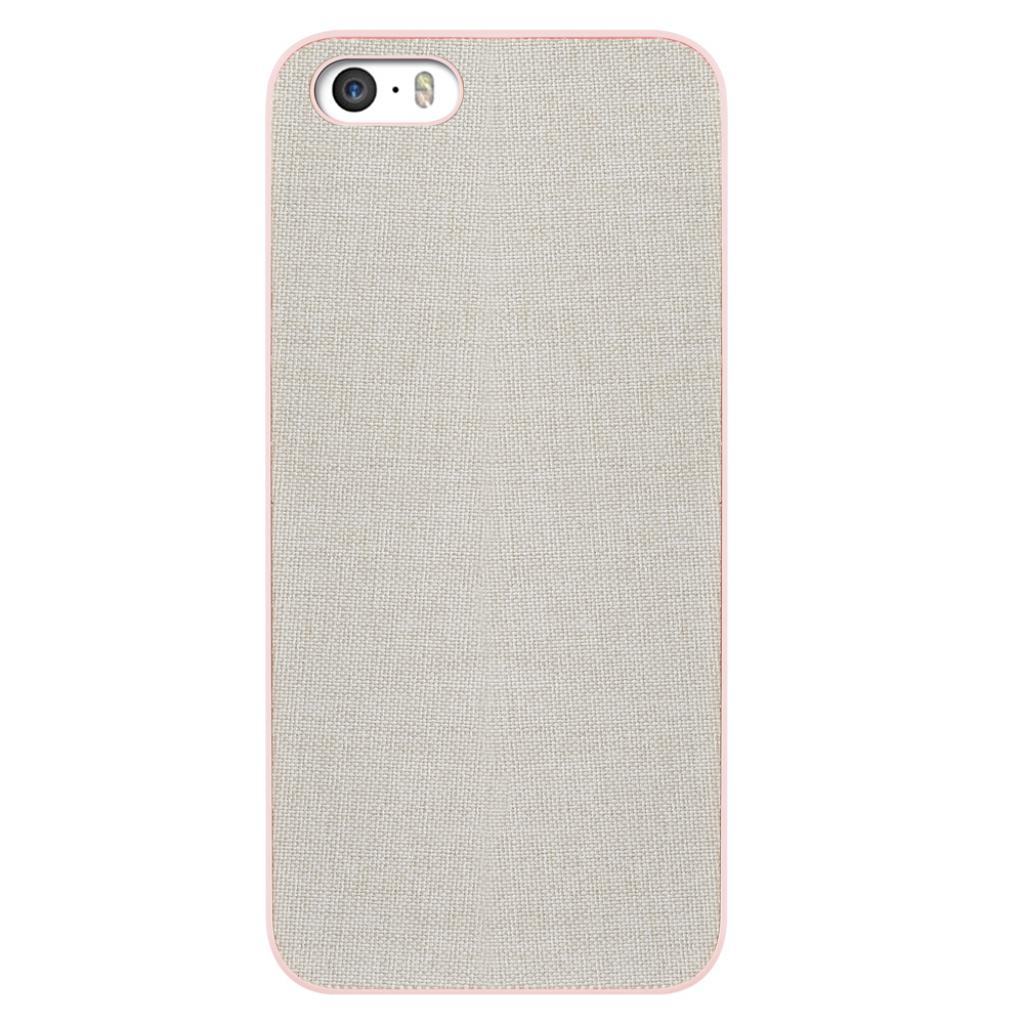 Чехол для моб. телефона OZAKI iPhone 5/5S O!coat 0.3+Canvas Pink (OC543PK)