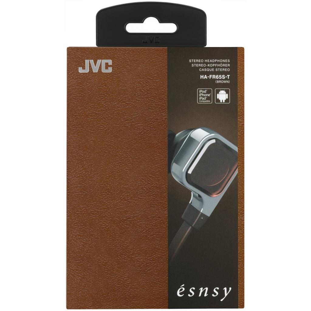 Наушники JVC Esnsy HA-FR65S Brown (HA-FR65S-T-E) изображение 5