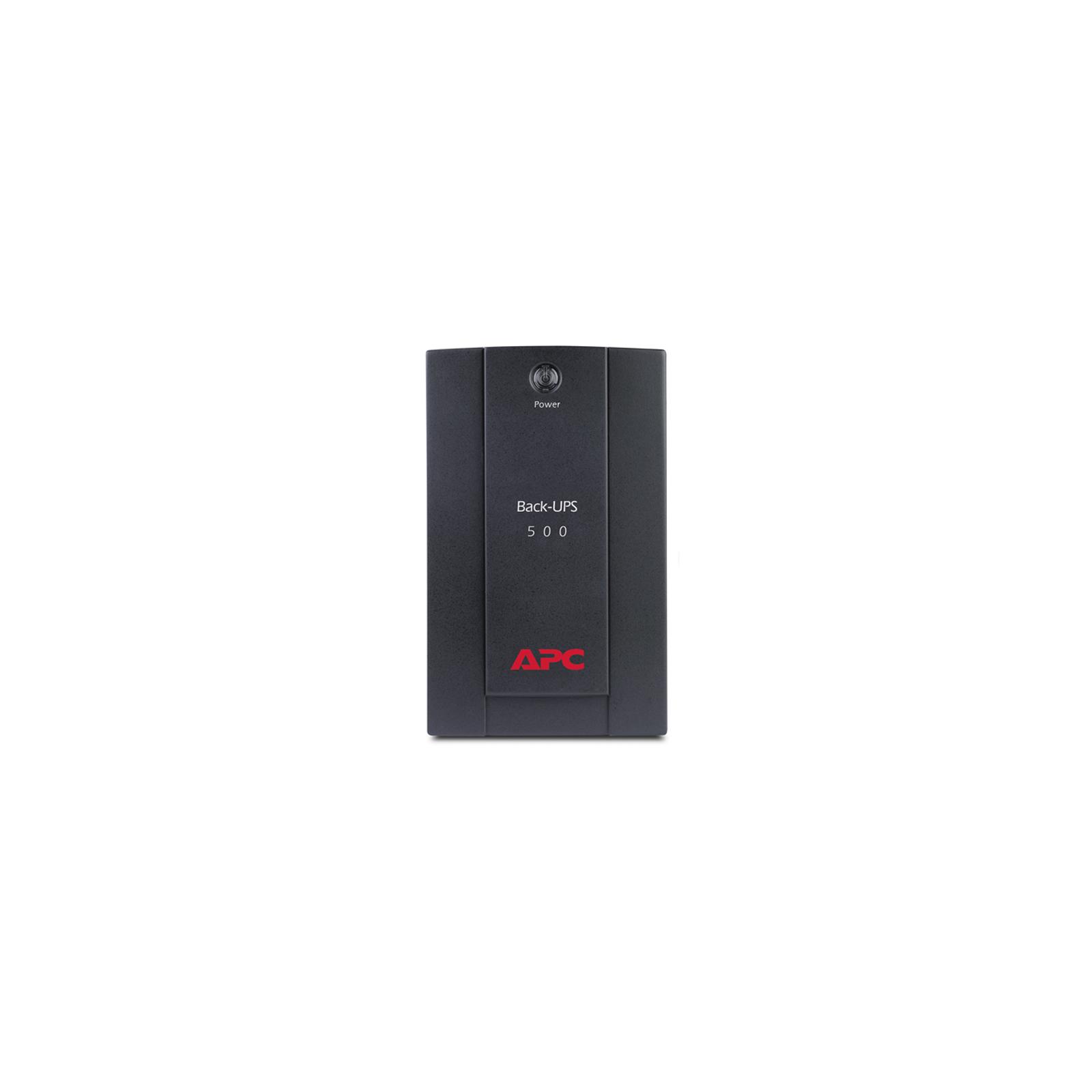 Источник бесперебойного питания APC Back-UPS 500VA (BX500CI) изображение 2
