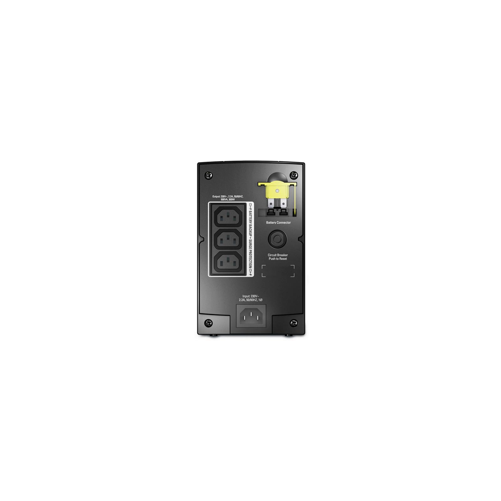 Источник бесперебойного питания APC Back-UPS 500VA (BX500CI) изображение 3