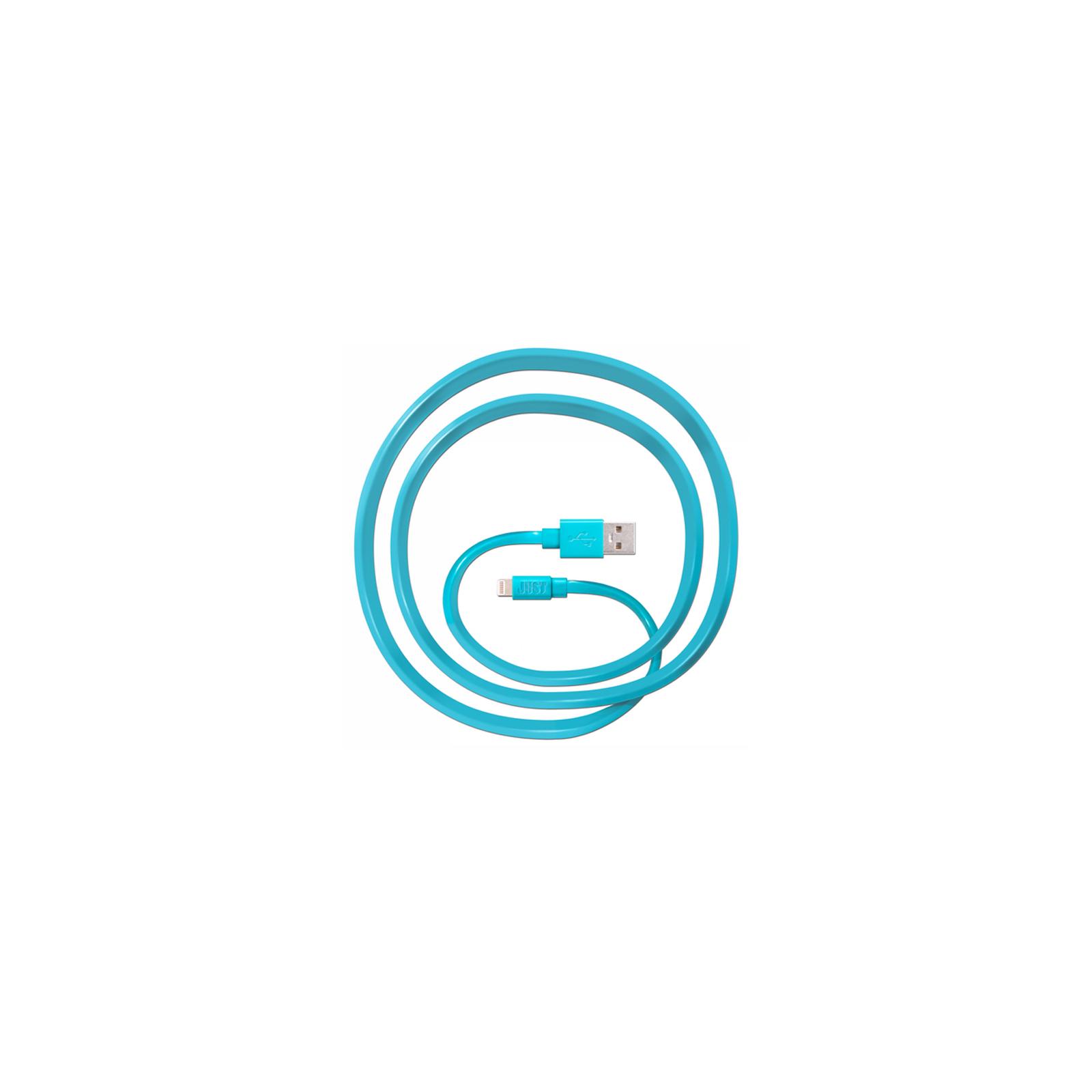 Дата кабель JUST Freedom Lightning USB Cable Blue (LGTNG-FRDM-BL) изображение 2